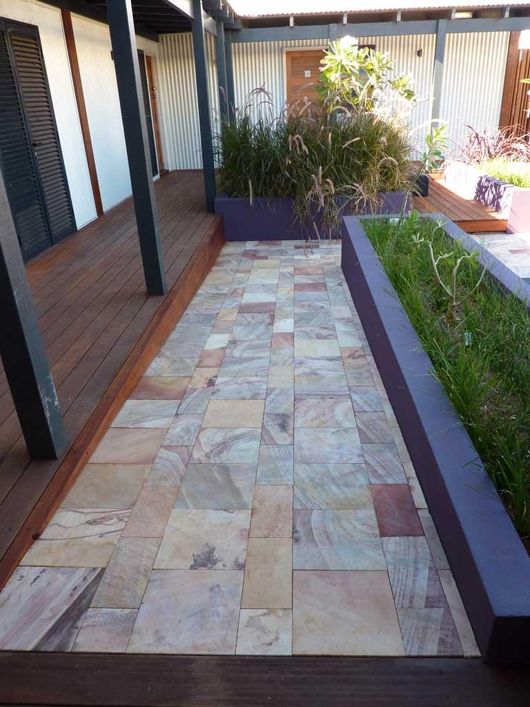 Natural Stone Paving : Kimberley sandstone pavers limestone blocks