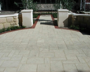 Limestone Pavers Perth