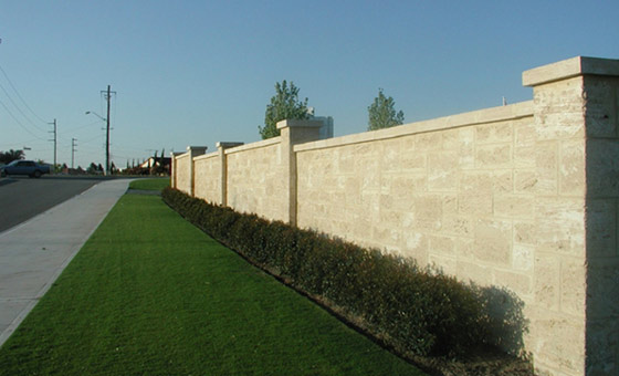 Boundary Screen Wall