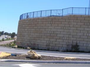 Natural Tamala Limestone for wall cladding.