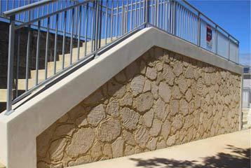 Rough Texture Stone Cladding Perth